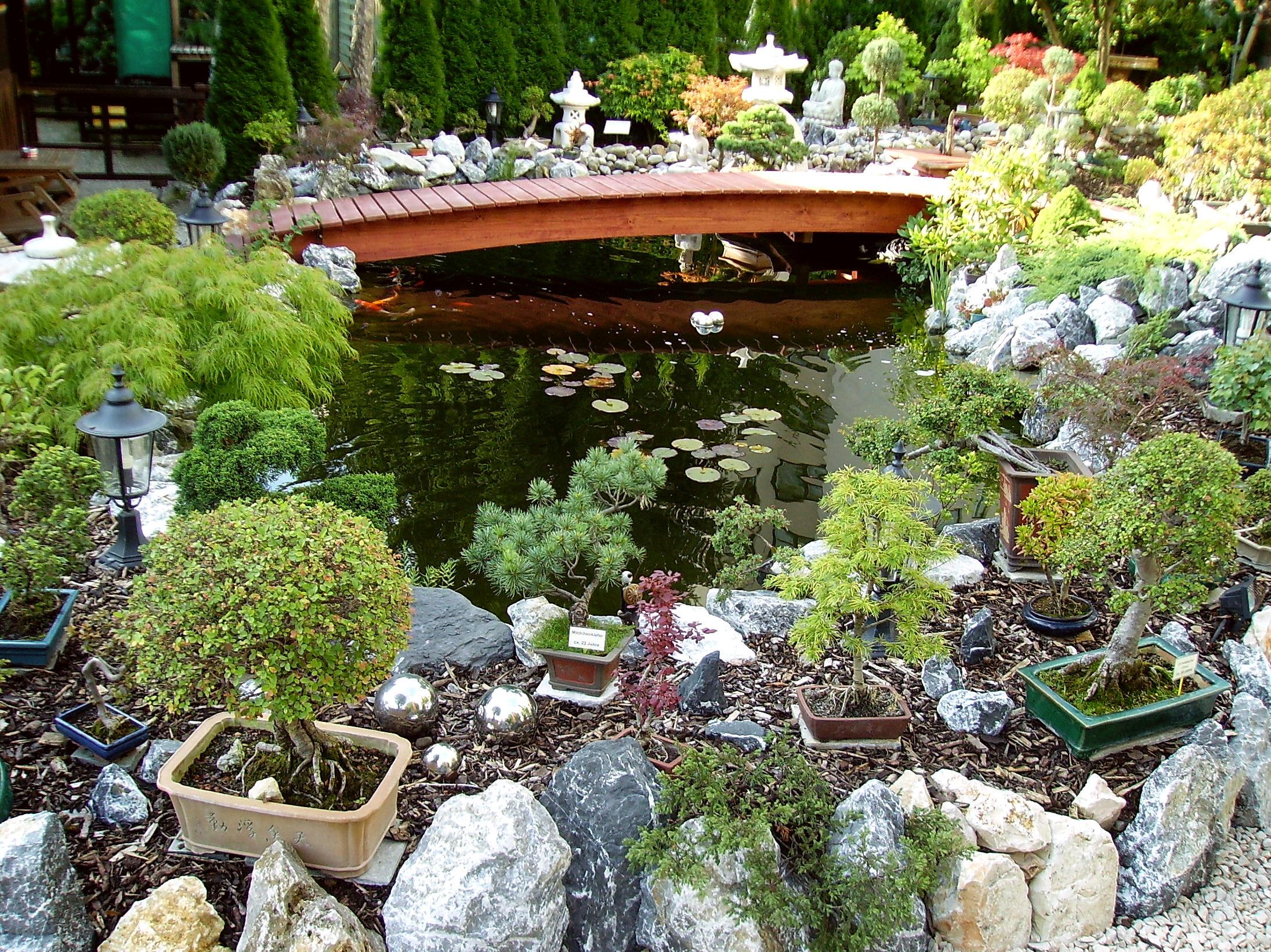 Ueber uns for Whirlpool garten mit bonsai samen shop